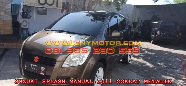 SUZUKI SPLASH MANUAL 2011 KEDIRI | LENY MOTOR