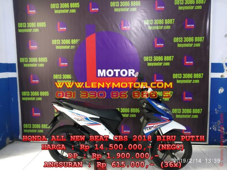 HONDA ALL NEW BEAT CBS 2018 Kediri | LenyMotor.com