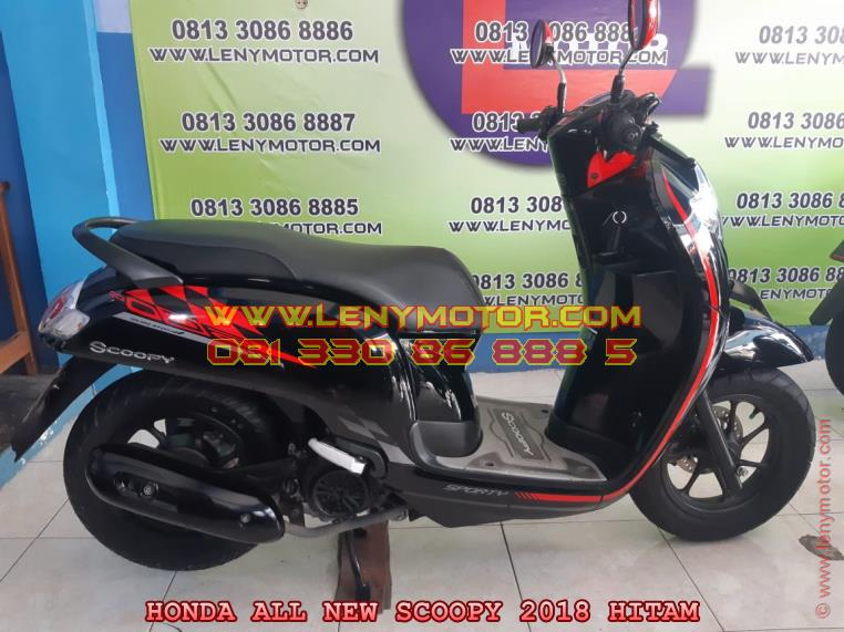 HONDA ALL NEW SCOOPY 2018 Kediri | LenyMotor.com